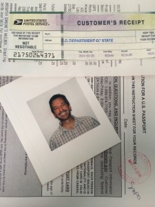 My New Passport Is In Process!