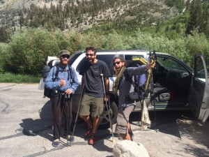 Pacific Crest Trail By Car Begins!